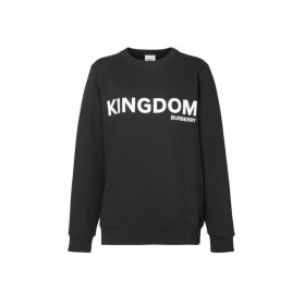 Burberry Kingdom Print Cotton Sweatshirt