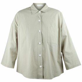 Nissa - Satin Short Sleeve Shirt