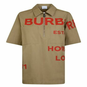Burberry Horseferry Print Cotton Shirt