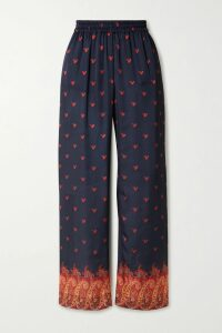 Lisa Marie Fernandez - Nicole Ruffled Linen-blend Gauze Midi Skirt - Black