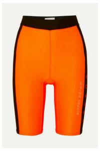 AMBUSH® - Waves Satin-jersey Shorts - Orange
