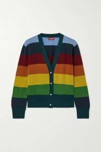 Missoni - Striped Crochet-knit Cotton Cardigan - Beige