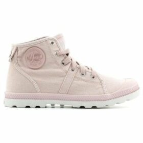 Palladium  Pallabrouse Mid LP 93825-682-M  women's Shoes (High-top Trainers) in Pink