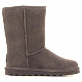 Bearpaw  Elle Short 1962W Charcoal  women's Snow boots in Grey