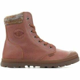 Palladium  Pampa Knit LP F 95172-733-M  women's Mid Boots in Brown