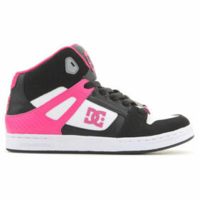 DC Shoes  DC Rebound 302676B BW1  women's Shoes (High-top Trainers) in Multicolour