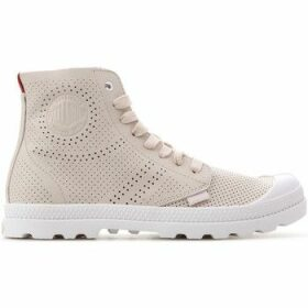 Palladium  Mid LP Perf 95756-683-M  women's Shoes (High-top Trainers) in Pink