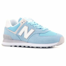 New Balance  WL574ESB  women's Shoes (Trainers) in Blue