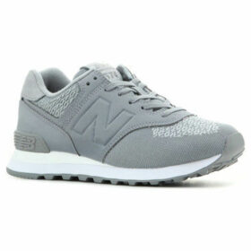 New Balance  WL574FAB  women's Shoes (Trainers) in Grey
