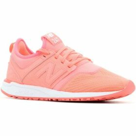 New Balance  WRL247SW  women's Shoes (Trainers) in Orange