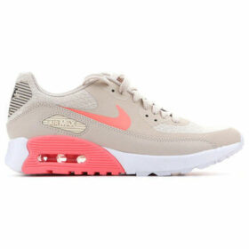 Nike  W Air Max 90 Ultra 881106 100  women's Shoes (Trainers) in Brown