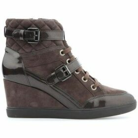 Geox  D Eleni C D6467C-021HI-C6004  women's Shoes (High-top Trainers) in Brown