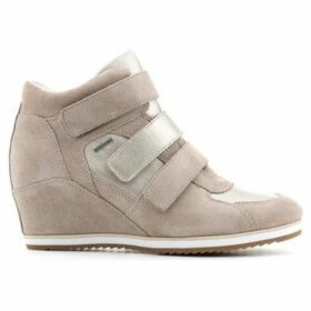 Geox  D Illusion D D7254D-022BV-CH62L  women's Shoes (High-top Trainers) in Brown