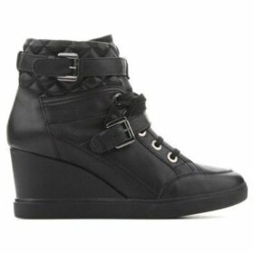 Geox  D Eleni C -Nappa D6467C 00085 C9999  women's Shoes (High-top Trainers) in Black