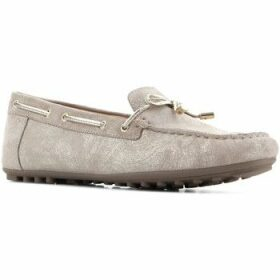 Geox  D Leelyan A - SHI.Suede D724RA 00077 C2005  women's Shoes (Trainers) in Brown