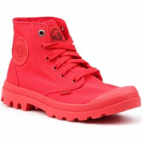 Palladium  Mono Chrome 73089-600-M  women's Shoes (High-top Trainers) in Red