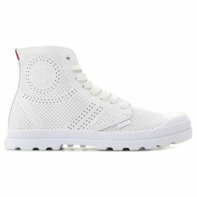 Palladium  Mid LP Perf 95756-133-M  women's Shoes (High-top Trainers) in White