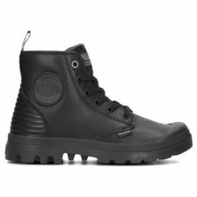 Palladium  Pampa Hi Zip Pony PR 75984-010-M  women's Shoes (High-top Trainers) in Black