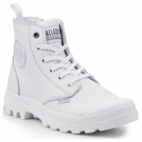 Palladium  Pampa HI Z CB U 75984-101-M  women's Mid Boots in White