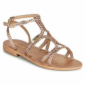 Les Tropéziennes par M Belarbi  BOUNTY  women's Sandals in Gold