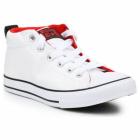 Converse  CT Street Mid 649997C  women's Shoes (High-top Trainers) in White
