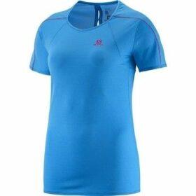 Salomon  Minim Evac Tee W 371146  women's T shirt in Blue