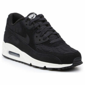 Nike  Wmns Air Max 90 Prem 443817-009  women's Shoes (Trainers) in Black
