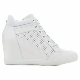 Geox  Wmns D Eleni C D7267C-00085-C1002  women's Shoes (High-top Trainers) in White