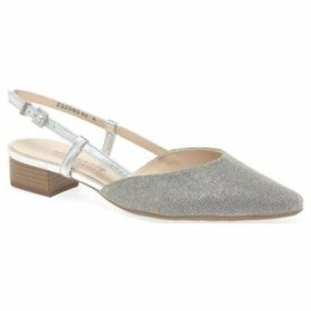 Peter Kaiser  Calida Womens Open Court Shoes  women's Court Shoes in Silver