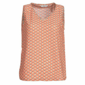 Only  ONLTULIPE  women's Blouse in Orange