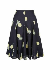 Melina Skirt Navy Multi