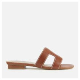 Dune Women's Loupe Leather Mule Sandals - Tan - UK 8 - Tan