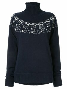 Chanel Pre-Owned Mademoiselle cashmere sweater - Blue