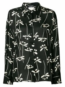 Chanel Pre-Owned 1998 printed shirt - Black