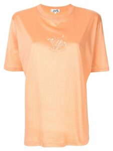 Hermès Pre-Owned Short Sleeve Tops - ORANGE