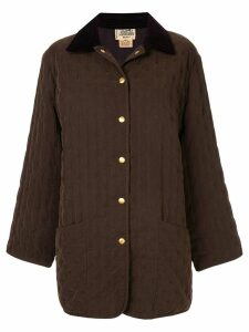 Hermès Pre-Owned Long Sleeve Coat - Brown