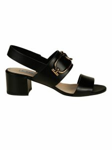 Tods T-ring Slingback Sandals