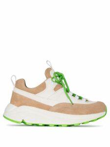 Diemme Beige Monte Grappa low-top leather sneakers - Neutrals