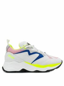 MSGM multi-patch sneakers - White