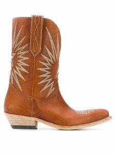 Golden Goose Wish Star cowboy boots - Brown