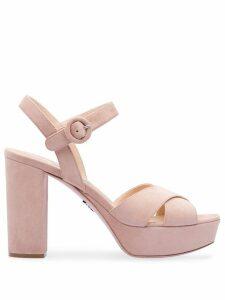Prada platform sandals - Pink