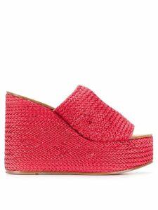 Casadei Riviera slip-on sandals - Red