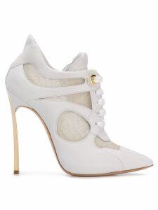 Casadei lace-up pumps - White