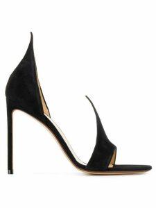 Francesco Russo open toe sandals - Black