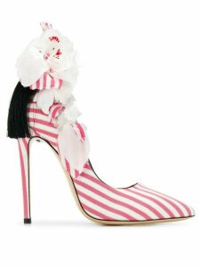 Aleksander Siradekian appliqué detail pumps - Pink