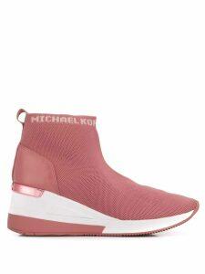 Michael Michael Kors sock-style sneakers - PINK