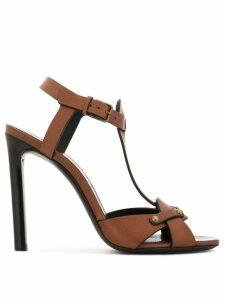 Saint Laurent western-style sandals - Brown
