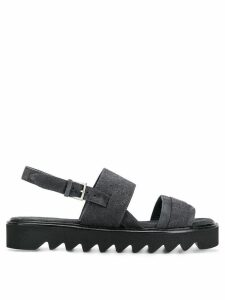 Peserico double strap sandals - Grey