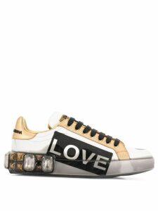 Dolce & Gabbana Portofino Melt sneakers - White