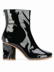 Maison Margiela block heel boots - Black